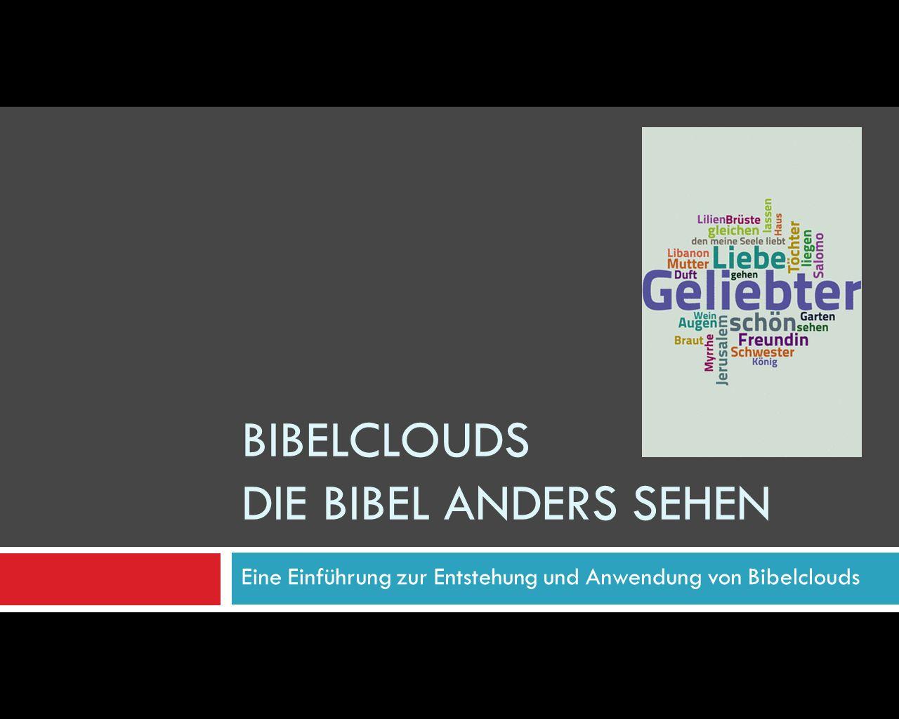 Bibelclouds im Video erklärt