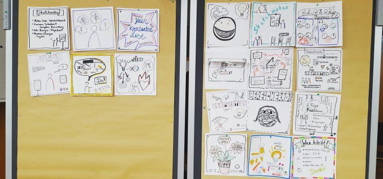 #BirkachSketch – Ergebnisse der Fortbildung im Haus Birkach