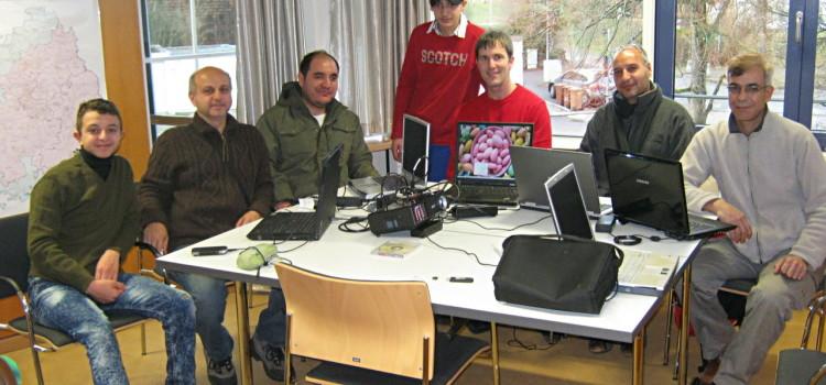 Wie konfiguriert man Linux-Laptops für Flüchtlinge?