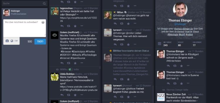 Mastodon – zurück in die Zukunft sozialer Netzwerke