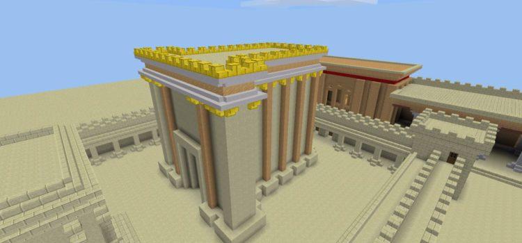 Willkommen in der Minetest-Tempelwelt