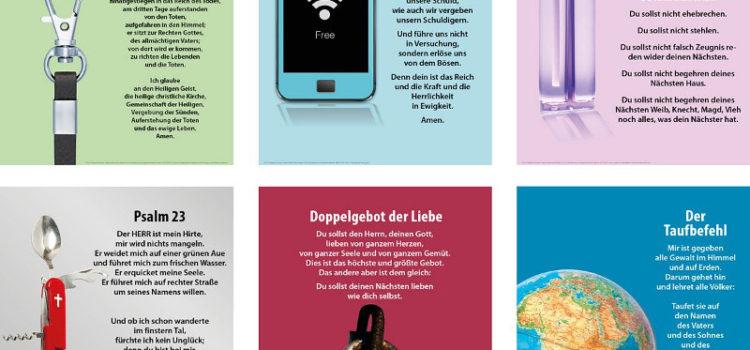 Glaubenssätze auswendig lernen – Plakatserie von Prof. Lübking erschienen