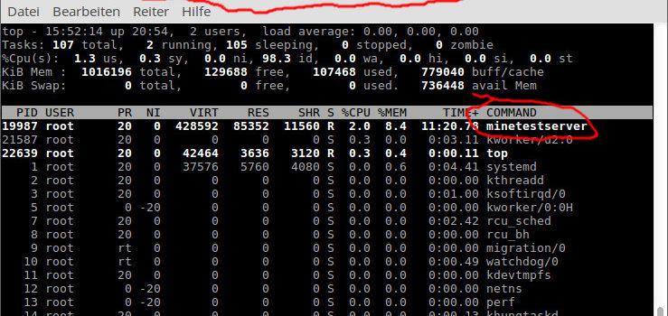 Wie richtet man einen Online-Minetest-Server ein?