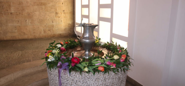 Ein Tauferinnerungsgottesdienst mit Stegreifspiel zum Kämmerer aus Äthiopien