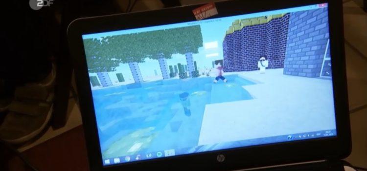 Unser Kemnater #Minecraft-Gottesdienst im ZDF